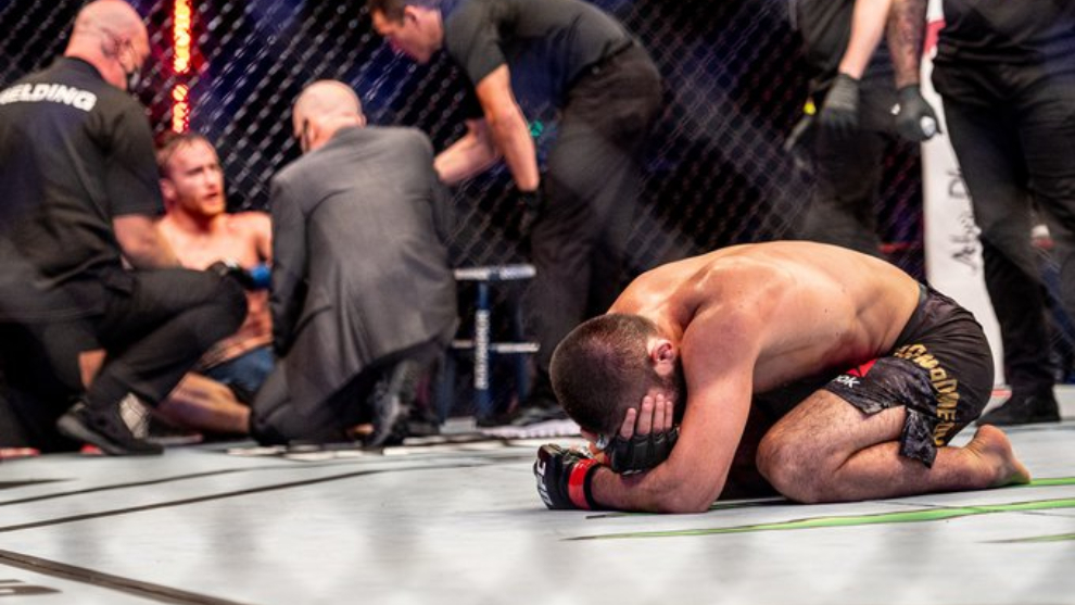 Khabib Nurmagomedov, gran emblema UFC