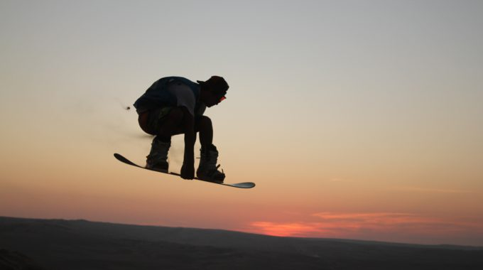 Landscape Nature Sand Horizon Silhouette Mountain Sunrise Sunset Morning Desert Dune Skateboard Sand Dune Extreme Sport Dunes Sports Snowboarding Sand Dunes Sandboarding Atmosphere Of Eart