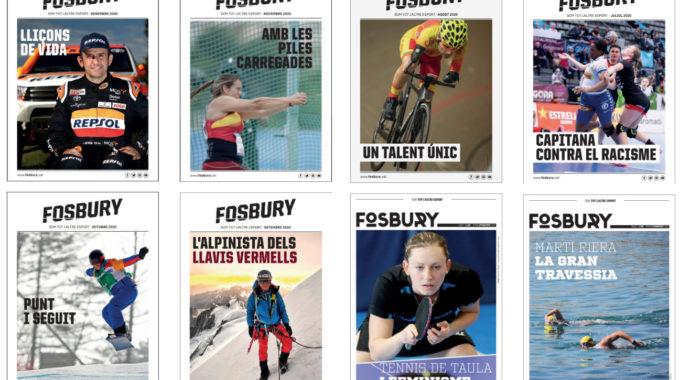 Les Revistes Digitals De 2020 De La Fosbury Aquí Podeu Consultar Totes Les Edicions D'aquesta Proposta De Petit Format Estrenada El Passat Mes De Maig