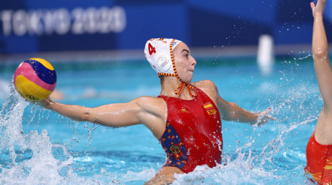 Tokyo 2020 Olympics Water Polo Women Quarterfinal Spain V China Tatsumi Water Polo Centre Tokyo Japan August 3 2021 Bea Ortiz Of Spain In Action Reuters Gonzalo Fuentes